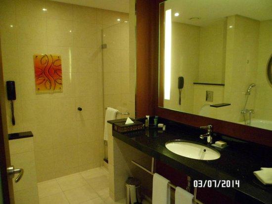 Hilton Warsaw Hotel & Convention Centre: Baño