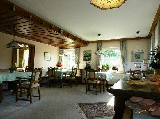 Landhaus Hirschberg: Dining area
