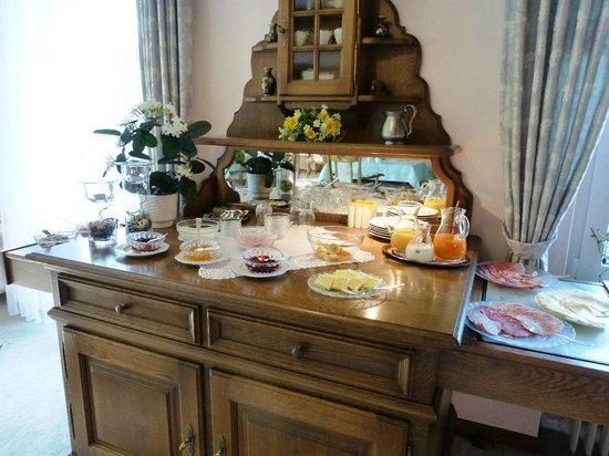Landhaus Hirschberg: Breakfast nook