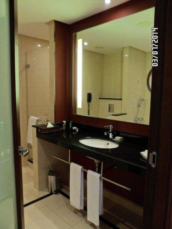 Hilton Warsaw Hotel & Convention Centre : Baño