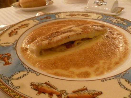 Restaurant Paul Bocuse : La fameuse sole aux nouilles Fernand Point : à essayer une fois dans sa vie