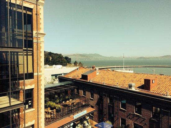 Fairmont Heritage Place, Ghirardelli Square: vistas del balcon