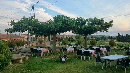 Restaurant Moli de Vent: Terrase
