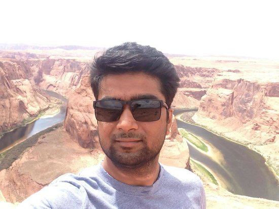 Horseshoe Bend : Epic Selfie!