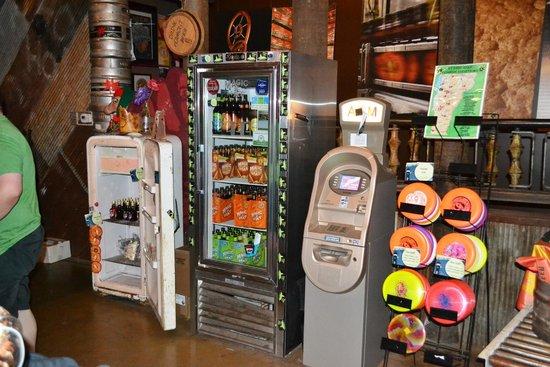 Magic Hat Brewing Company: display