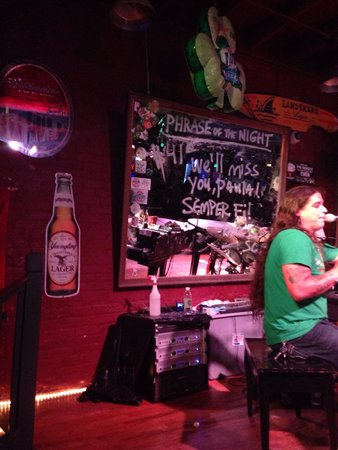 Savannah Smiles Dueling Pianos Saloon: You can pay $$ to have a special message on the board.