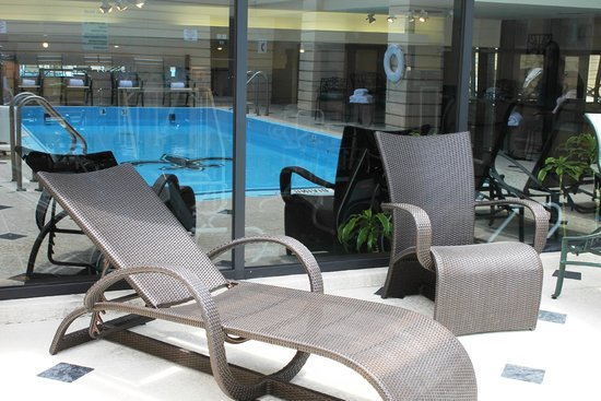InterContinental New Orleans: Rooftop Pool on 15th Floor
