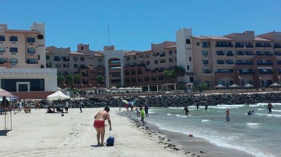 Penasco Del Sol Hotel : hotel view/beach