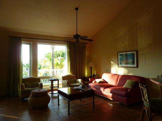the Casita Living Room