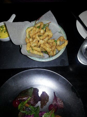 Harry's Bar and Restaurant: Fresh squid