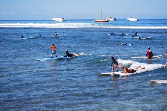 Maui Surf Clinics Side By Surfing With Jason Instructor
