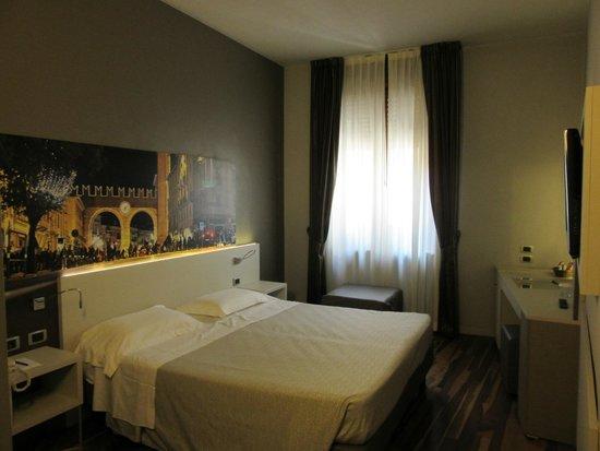 Giulietta e Romeo Hotel : Chambre confortable