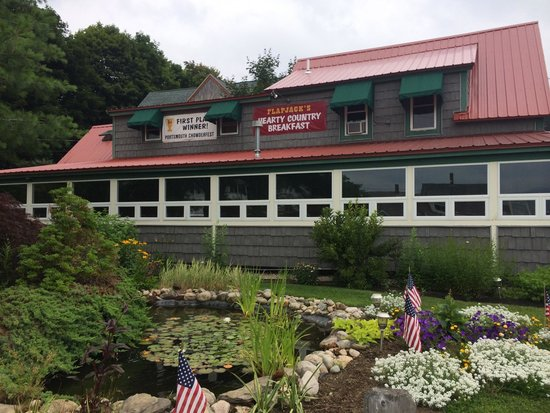 Flapjack's Pancake House : Nice Garden