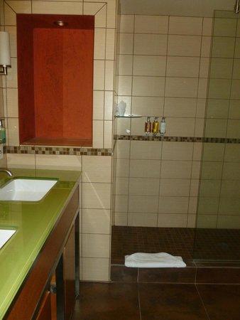 Hotel Andaluz : Zen bath room