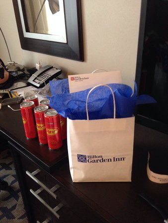 Hilton Garden Inn Times Square: GM give me special gift