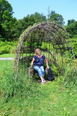 Stowe Recreation Path: sit for a bit