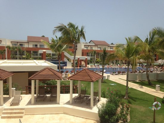 Breathless Punta Cana Resort & Spa : View from our balcony