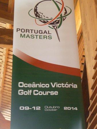 Oceanico Millennium Golf Course: Masters Banner