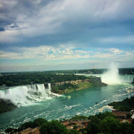 Sheraton on the Falls: our view