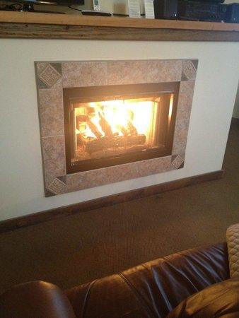 Glasbern Inn - Fogelsville / Allentown: Fireplace
