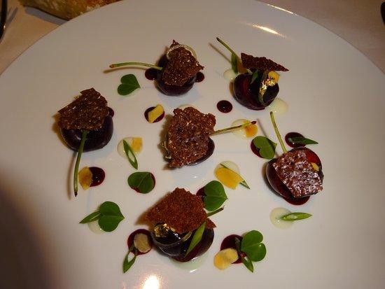 Grand Hotel du Palais Royal: delicious food at hotel restaurant, Le Lulli
