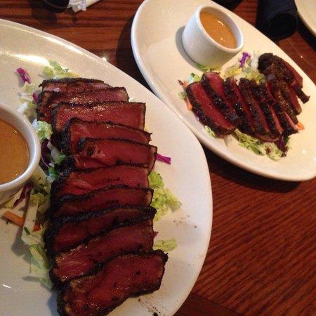 Outback Steakhouse : Ahi Tuna.