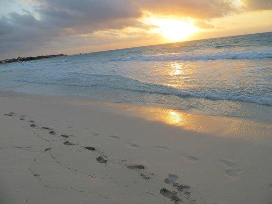 Iberostar Grand Hotel Paraiso: We enjoyed sunrise on the beach every morning