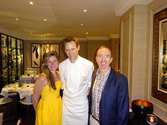 Grand Hotel du Palais Royal: Fantastic Chef!