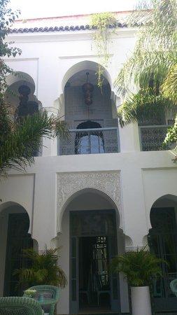 Riad Idra: View from courtyard