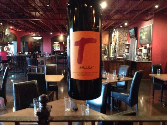 Taverna Tagaris: During wine tasting