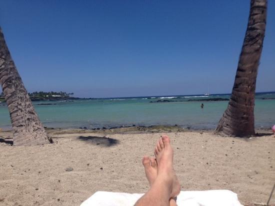 Mauna Lani Bay Hotel & Bungalows: Awesome beach