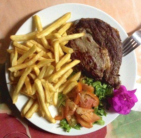 Cafe Obelix: Entrecôte frites