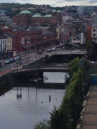 The River Lee: View from River Lee Hotel