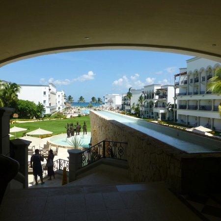 The Royal Playa del Carmen: la place centrale