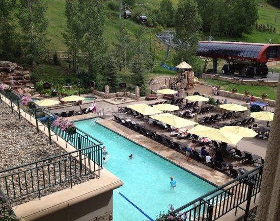 Park Hyatt Beaver Creek Resort and Spa : Our view