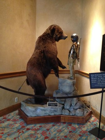 Park Hyatt Beaver Creek Resort and Spa: we got a kick out of this fella