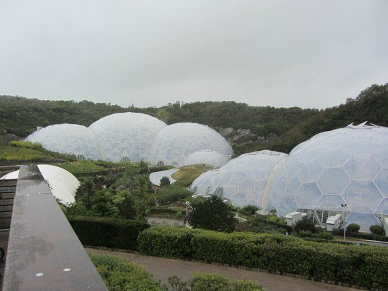Eden Project: Futuristic domes