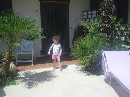 Villa Grotta Monaca: Giardino