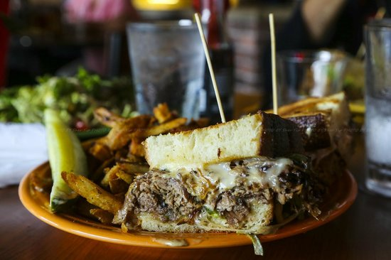 Melt Bar & Grilled: steak and cheese