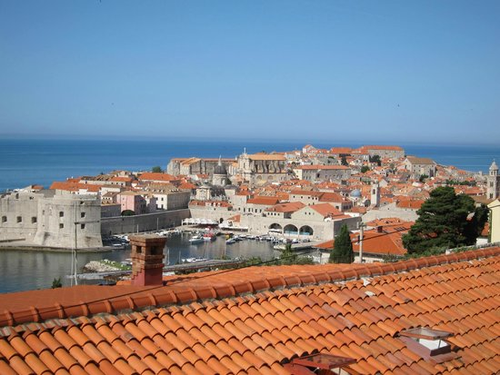 Old Town Dubrovnik Apartments: View from car port
