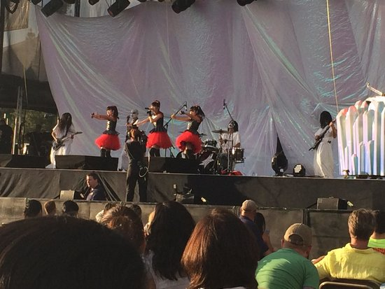 "Harveys Lake Tahoe: ""Baby Metal"" live on stage from row 14 section 3."