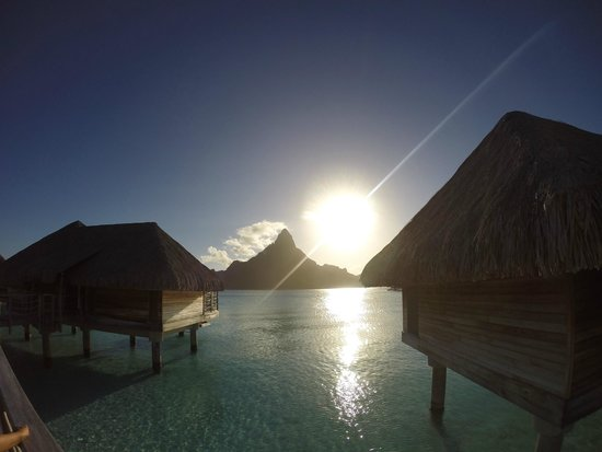 InterContinental Bora Bora Resort & Thalasso Spa: View from our front door