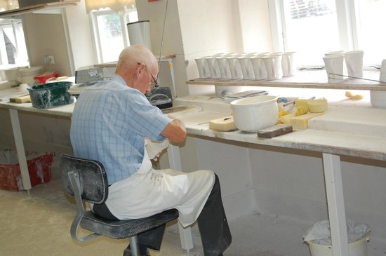 Belleek Pottery & Visitor Centre: attention to detail