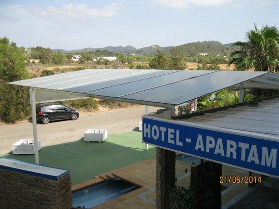 Hotel Apartamentos Monterrey: Front Entrance