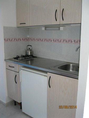Hotel Apartamentos Monterrey: Small Kitchen area