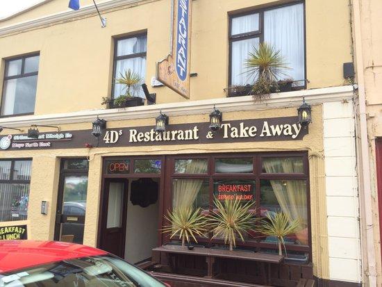 4 D's Restaurant & Takeaway: The dreaded Restaurant