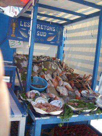 Essaouira Fish Market : Stall 33 selections