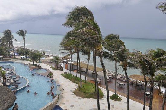 Ocean Palace Beach Resort & Bungalows: Vista do apartamento