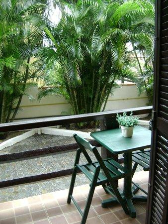 Pousada Kilandukilu: imagen del balcón de la habitación