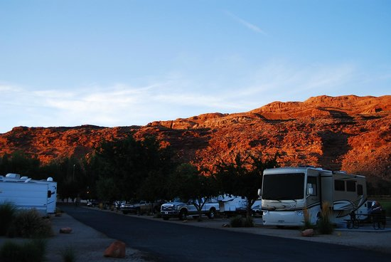 Portal RV Resort / Campground : The view!